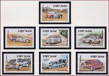 VIETNAM N°1216/1222** Voitures,  automobiles, 1991 Vietnam 2259-2265 Cars MNH
