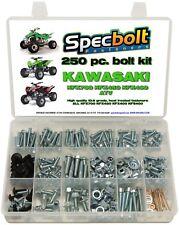 250pc Bolt Kit Kawasaki KFX450 KFX 450 400 700 ATV body plastic frame fender eng