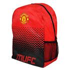 Manchester United Fc Grande Fade Mochila Mochila Escolar Niños Adultos NUEVO