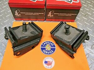 1957 TO 1964 CADILLAC DEVILLE 365 390 429 V8 MOTOR MOUNT SET OF 2 NEW USA MADE