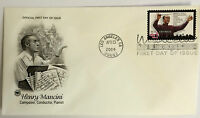 50 USPS PCS Henry Mancini 2004 37c Stamp FDC Cover 3839 First Day Issue NEW