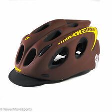 Catlike Kompact'O Bike Helmet Medium 55-58cm Brown/Orange 2133000MDCV