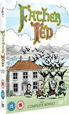 ❏ Father Ted The Complete Box Set + BONUS EXTRAS Series Collection Seasons DVD ❏