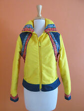 Vintage 70's Levi's Ski Womens Size XS-S Yellow with Denim Ski Coat Jacket