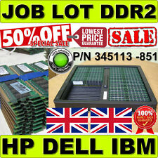 JOB LOT GENUINE DELL HP 32GB (32x 1GB) PC2-3200R 400MHz DDR2 ECC Registered 1Rx4
