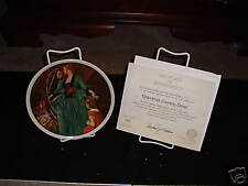 """1984 Knowles Collector Plate """"Grandma's Courting Dress"""""""