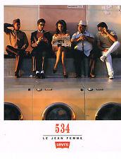 PUBLICITE ADVERTISING  1994   LEVI'S  JEAN 534 pour femme