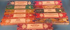 Satya Nag Champa Incense–11 Pack Variety