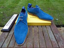 VT685 John Lobb - WILLOUGHBY - Ocean Blue Cashmere Suede UK 10.5 E - 8000 Last