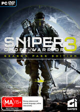 Sniper Ghost Warrior 3 Season Pass Edition PC Game NEW