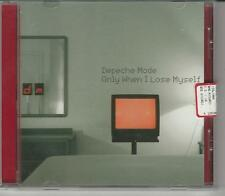 CD SINGLE DEPECHE MODE :ONLY WHEN I LOSE MYSELF