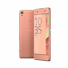 Teléfonos móviles libres rosa Sony con conexión 4G