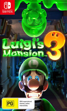 Luigis Mansion 3 Switch Game NEW
