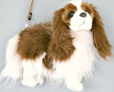 Rare Fuzzy Nation 'Love on a leash' Cavalier King Charles Puppy Purse Handbag