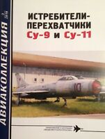 AKL-201903 AviaCollection 2019/3 Sukhoi Su-9 and Su-11 Interceptor Aircraft