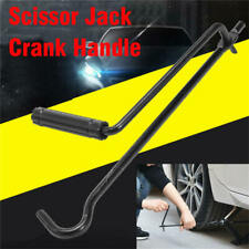 Folding Steel Car Scissor Jack Crank Lever Handle Lift Rod Post Garage Tool 1x