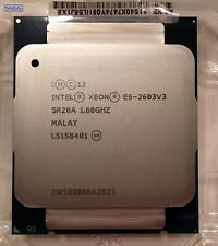 Intel Xeon E5 2603 V3 6 Core 1.6GHz Processor CPU SR20A EX VAT £32
