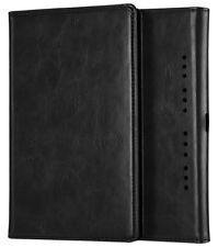 Case Cover for Nintendo Switch Premium PU Leather Protective Flip Shell Black Uk