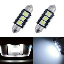 A Pair Error Free Number License Plate LED SMD Light Bulbs  For Audi B5 A4 S4