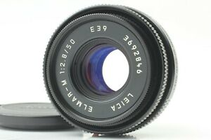 [NEAR MINT] Leica Elmar-M 50mm F2.8 E39 Black M Mount Lens From Japan