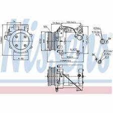 Nissens Kompressor 89277 Klimaanlage Hyundai Accent II 2 1.3 1.5 LC Kompresor