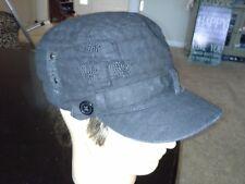 D&Y Elastafit Ladies Hat Cap with Button Accents