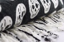 Skull scarf Halloween Gift Warm Winter Scarves Soft Long Wrap Skeleton Shawl