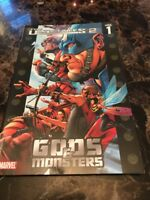 Ultimates 2 Vol.1: Gods And Monsters by Marvel Comics (Paperback, 2005)