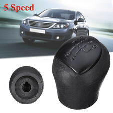Black 5 Speed Gear Shift Shifter Knob For Renault Clio II Twingo Kangoo Laguna I