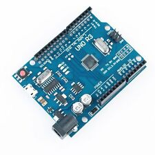 1PCS UNO R3 ATMEGA328P-AU Compatible CH340G FOR ARDUINO WITH MICRO USB DIY KIT