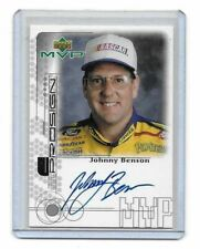 1999 Upper Deck MVP ProSign SILVER Johnny Benson AUTHENTIC AUTOGRAPH MUST SEE!