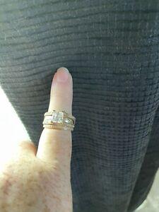 2ct Diamond Nexus Ring Yellow/White Gold 2 piece
