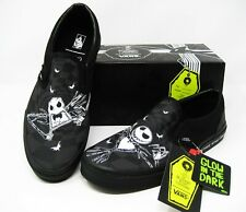 Vans x Nightmare Before Christmas Jack Skellington Slip On Kids 6 Womens 7.5