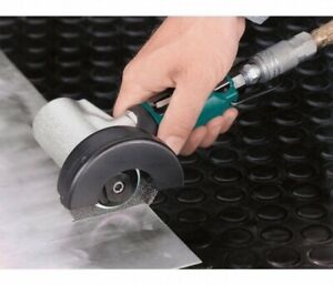 """Dynabrade 4"""" 7 Degree Offset Right Angle Air Cut-Off Wheel Tool 0.7 HP"""