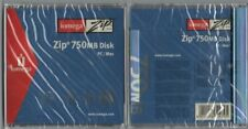 X2 iOMEGA 750Mb Zip Disk PC / MAC Compatible in Jewel Case - New / Sealed