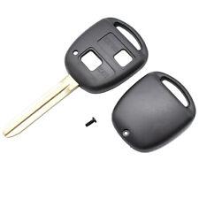 Car Key Shell Remote Fob Case For Toyota Yaris Prado Tarago Camry Corolla Key