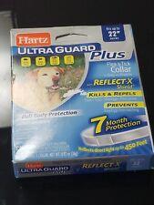 "Hartz UltraGuard Plus Flea & Tick Dog Collar, Water Resistant - up to 22"" Neck"