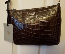 Modalu Twiggy shoulder/cross body bag in brown leather new with tags
