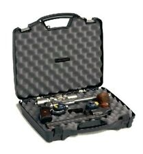 """New! Plano Pro-Max Double Pistol Small Gun Case 16.75"""" x 14.5"""" x 3.5"""" Ext 140201"""
