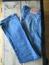 RECENT LEVIS 527 SLIM SLIGHT-BOOTCUT JEANS (32/33x34) STRETCH FADED ZIP-FLY - Ex
