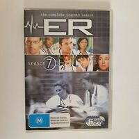 ER Season 7 DVD TV Series 6 Disc Set Free Postage Region 4 AUS