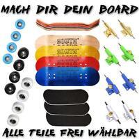 Fingerboard PROFI-SET SOUTHBOARDS® Handmade Wood Fingerskateboard Holz lackiert