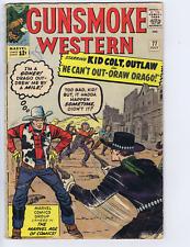 Gunsmoke Western #77 Marvel Pub 1963