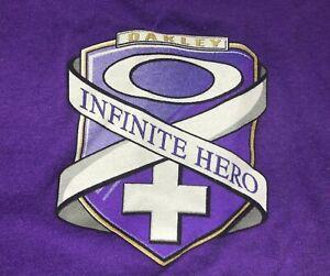 Men's Oakley S/S Crew Neck T-Shirt Size Medium (M) PURPLE INFINITE HERO
