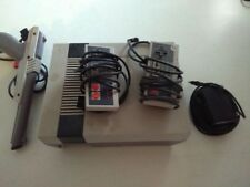 Nintendo Entertainment System Deluxe Gray Console Untested