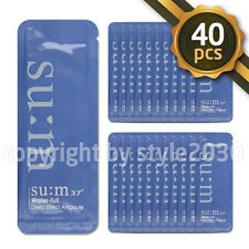 Su:M37 Water Full Deep Effect Ampoule 1ml x 40pcs (40ml) Moisturizing Sum37