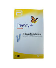 * FREESTYLE 100 LANCETS FOR USE WITH ABBOTT LANCING DEVICES 28-GAUGE STERILE