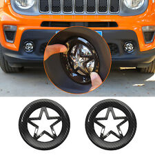 Light Covers For Jeep Renegade 2019 2020 Front Fog Light Lamp Cover Trim Guard