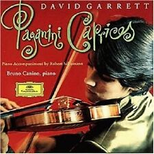 """DAVID GARRETT """"24 CAPRICEN FÜR VIOLINE""""  CD NEU"""