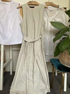 Lee Mathews Wrap Cotton Tunic Dress 0